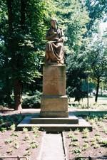 Standbild vom Gartenarchitekten Maximilian Wehye (* 1775, † 1846), dem Schöpfer des heutigen Hofgartens. 1850 von C. Hofmann geschaffen.