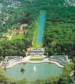 Schloss Benrath Luftbild